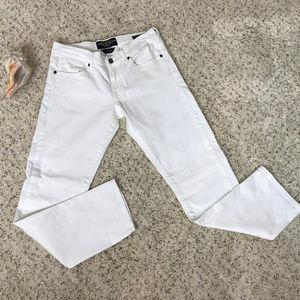 Lucky Brand White, women's 4/27, Sienna Tomboy Cro